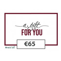 Cadeaubon €65